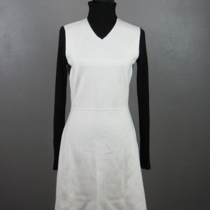 Heavy Thick Wool Turtle Neck Mini Dress Sz Large